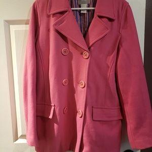 dELiA*s pink pea coat